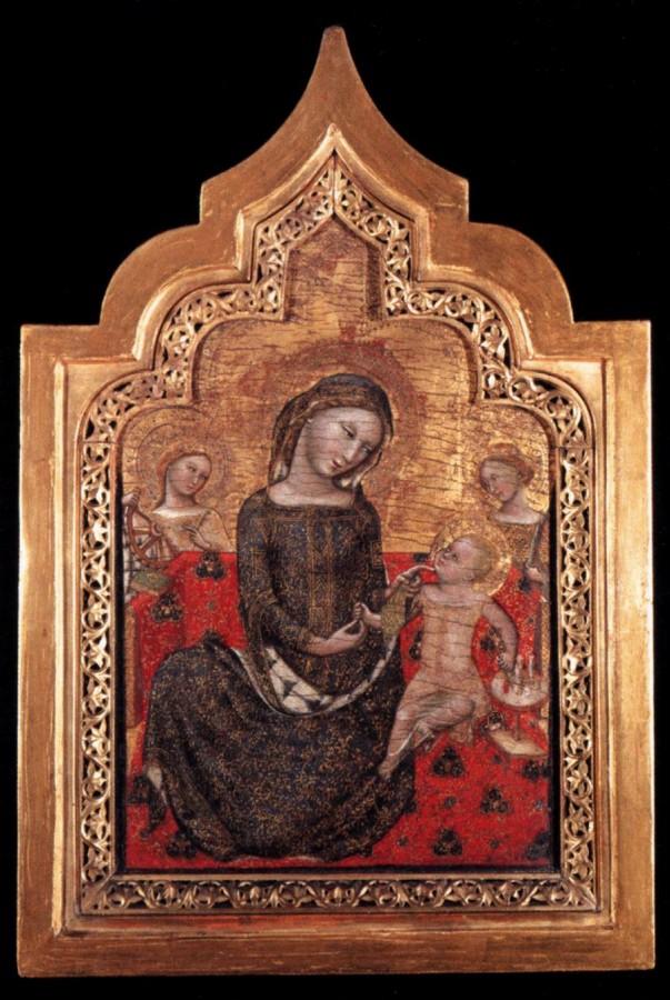 Витале да Болонья. Мадонна смирения. 1353