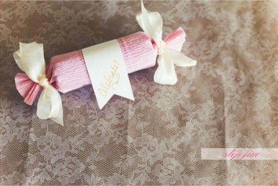 Конфеты из бумаги креп своими руками 352