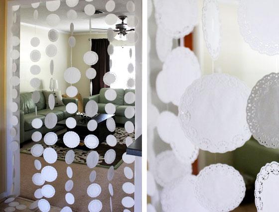 Украшение комнаты на свадьбу