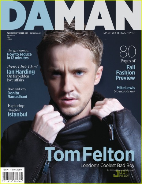 tom felton da man august september 2011  15