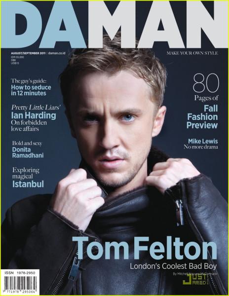 tom felton da man august september 2011  15