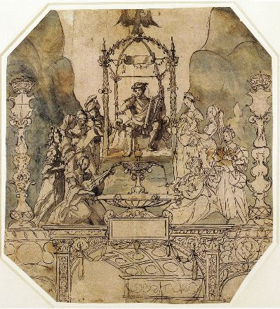 927px-Apollo_and_the_Muses_on_Parnassus,_by_Hans_Holbein_the_Younger