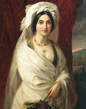 Apollon Mokritsky. Woman's Portrait. 1841-