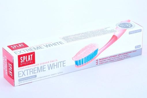 1. зубная пасту splat