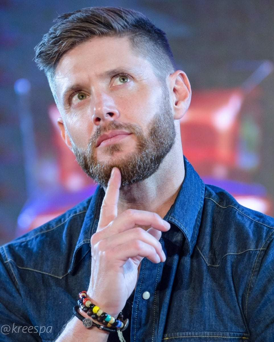 So, what's Jensen pondering on here?