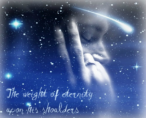 The weight of eternity