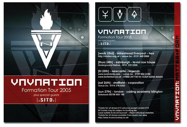 VNV Nation UK Tour 2005