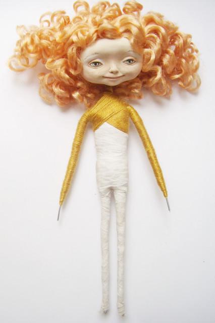 Как сделать куклу своими руками каркасную 88