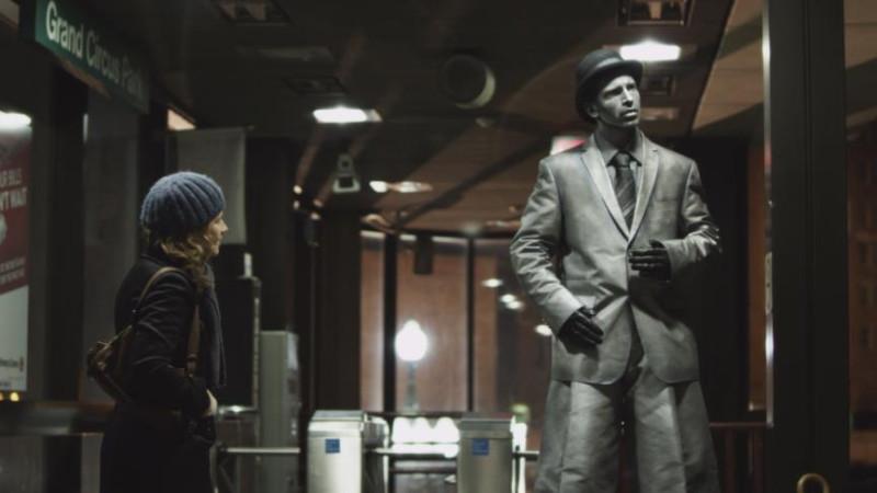 """Кадр из фильма """"Гигантский механический человек"""" (США, Польша, 2011 г.)"""