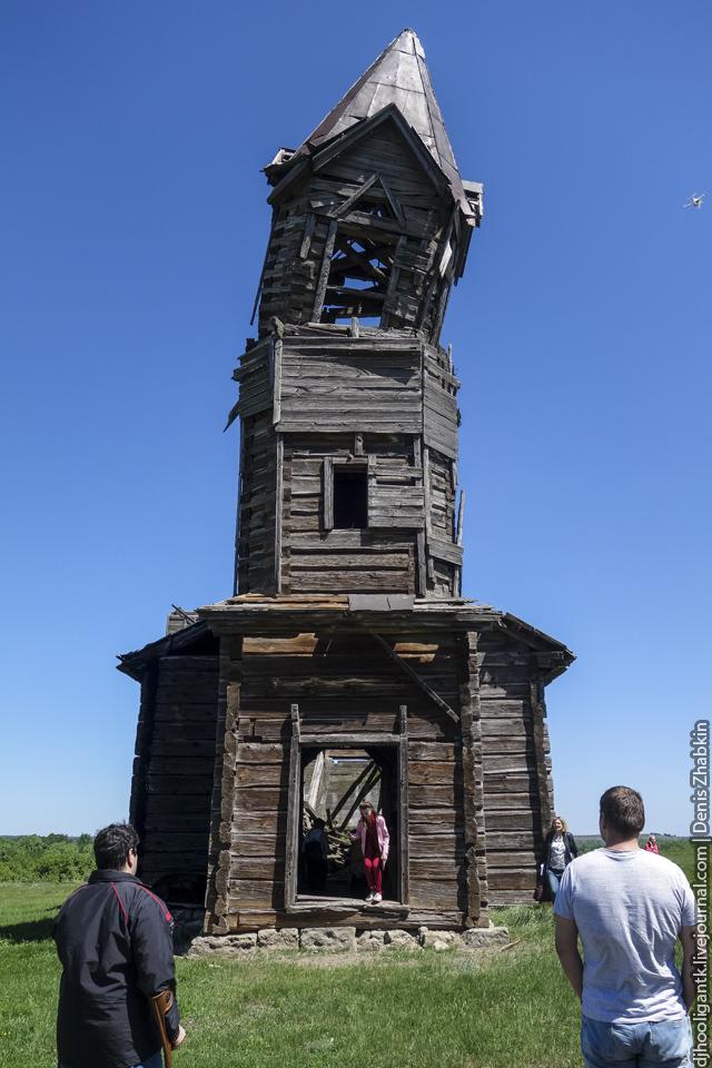 деревянный храм Новая Осиновка