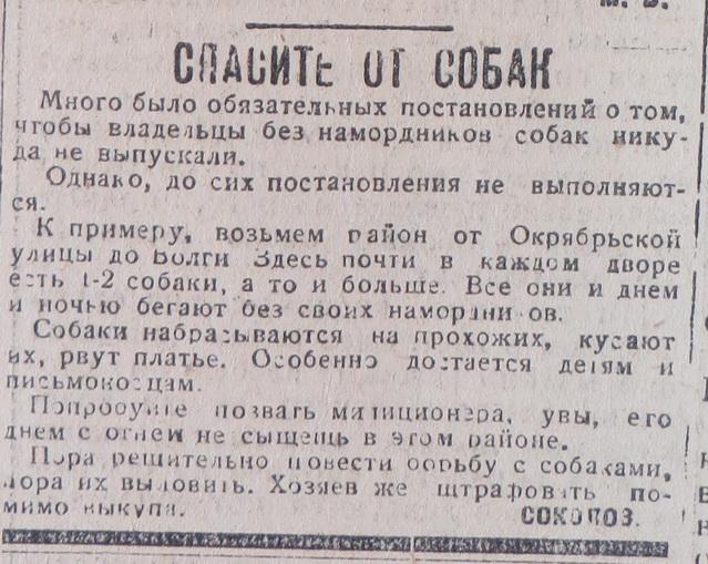 1931-07-11 собаки октябрьская.jpg