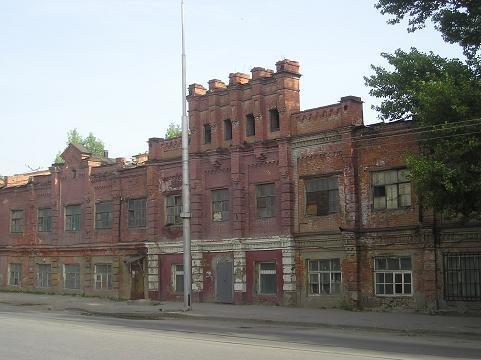 табачная фабрика левковича перед сносом