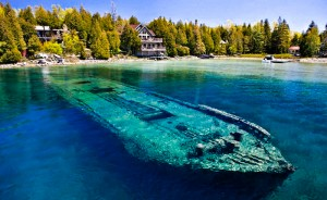 Lake-Huron-shipwreck