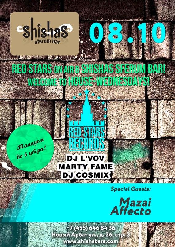 dj mazai @ shishas sferum bar