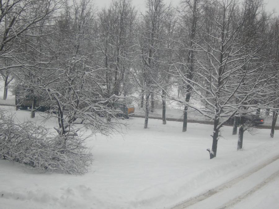 Зима, холода!