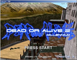 NAOMI 2009-07-11 Dead or Alive 2 Millenium #1
