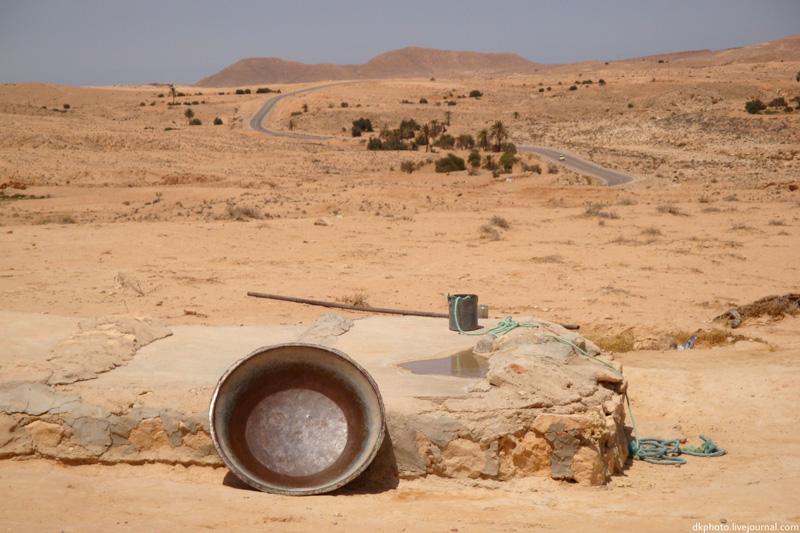 Дорога к Вратам пустыни Сахары... - тунис отдых