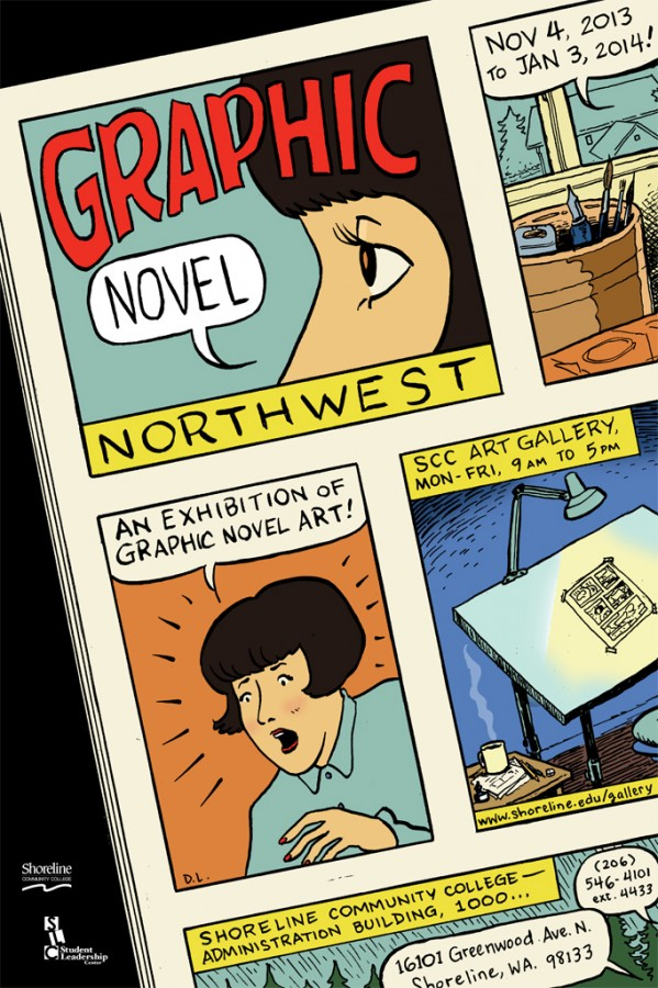 Graphic Novel Northwest poster