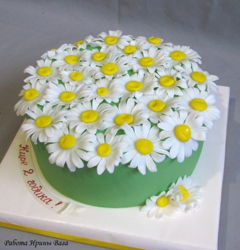 pobedpix.com / торт ромашки