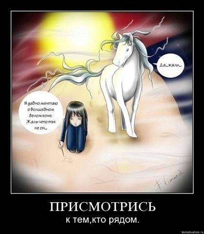 Мечтаю о белом коне