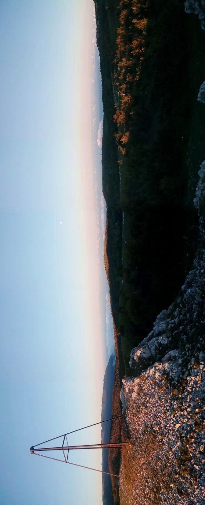 Безымянная вершина на Ялтинской яйле