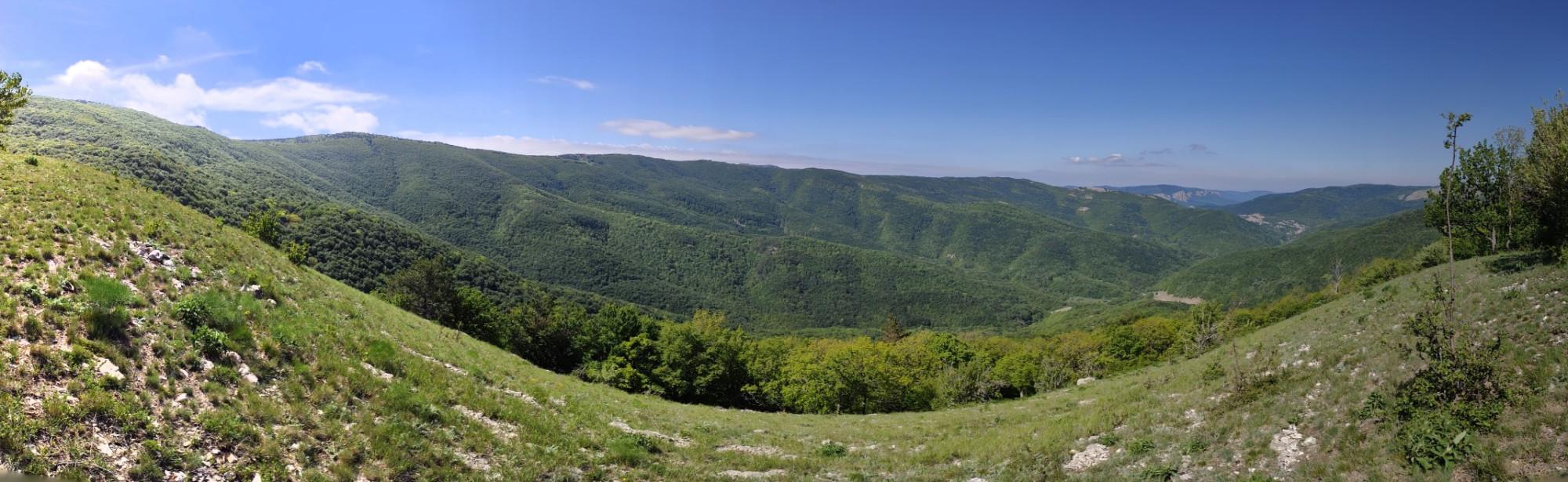 (Пано Егора) Общий пейзаж горы Комбопло.