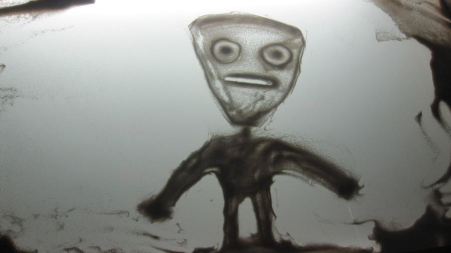 Моя первая песочная анимация)