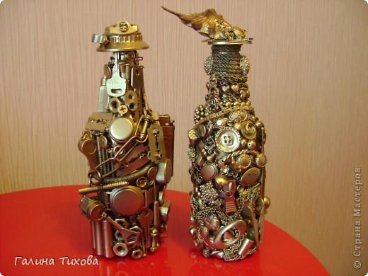 Декор бутылки своими рукам