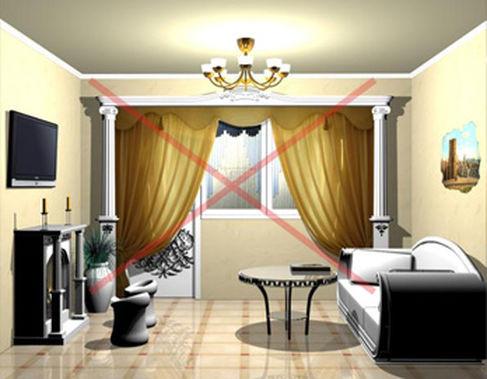 Самые безвкусные интерьеры квартир фото