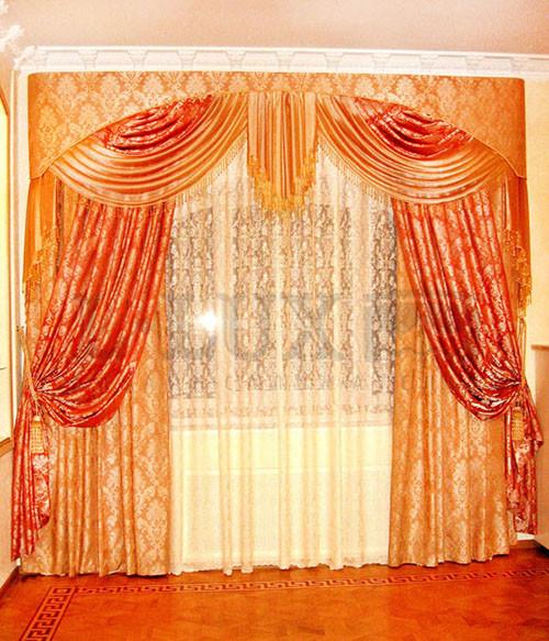 современные шторы для гостиной фото