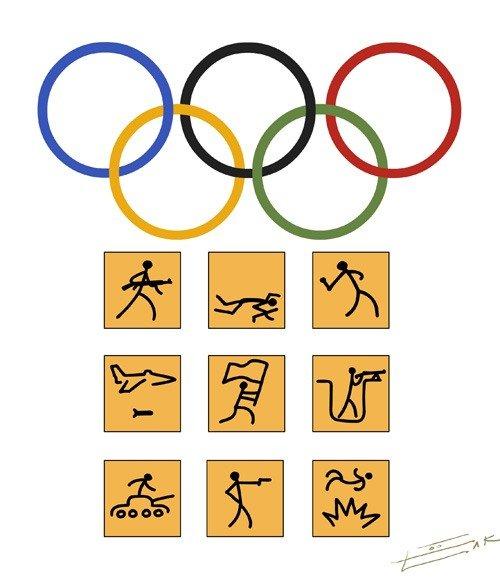 олимпийская война