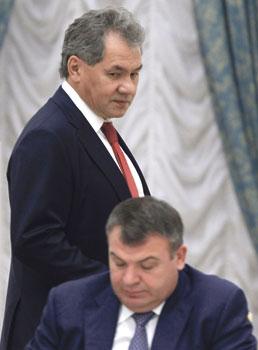 Шойгу Сердюков