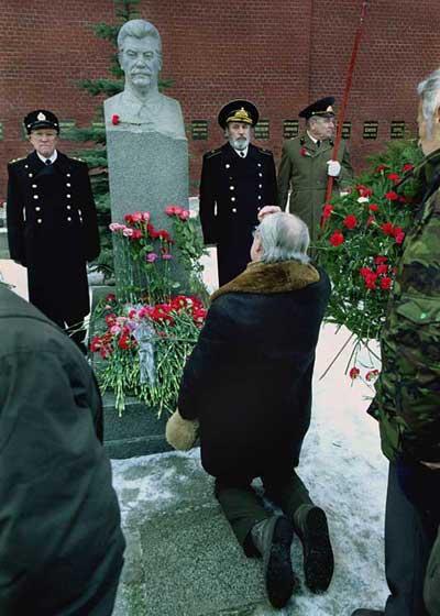 Сталин на коленях
