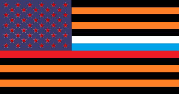 Флаг США 2000пикс