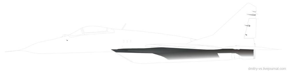 тени самолёта