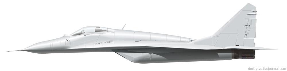форма самолёта