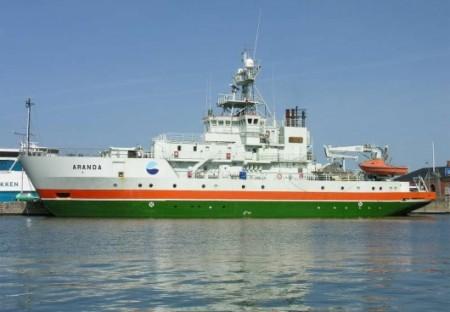 финское научное судно