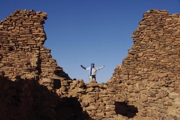На развалинах древнего поселения