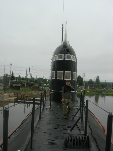 Музей подводной лодки в Вытегре