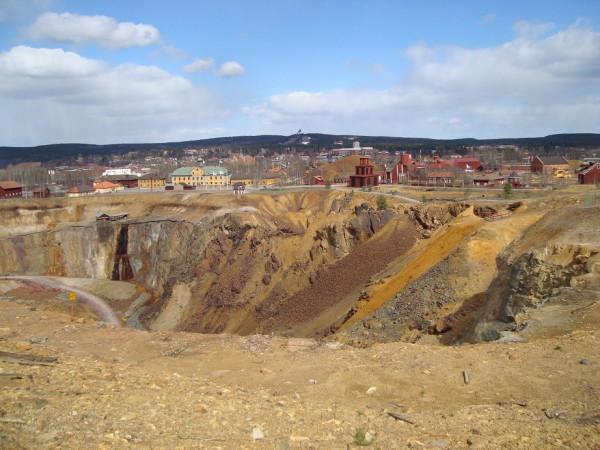 Медная шахта в Фалуне