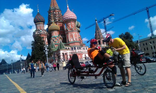 Azub Twin Азуб Твин Лежачий велосипед-тандем