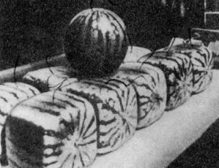 Кубические арбузы