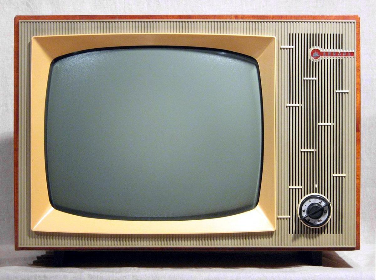 Первый советский серийный цветной телевизор
