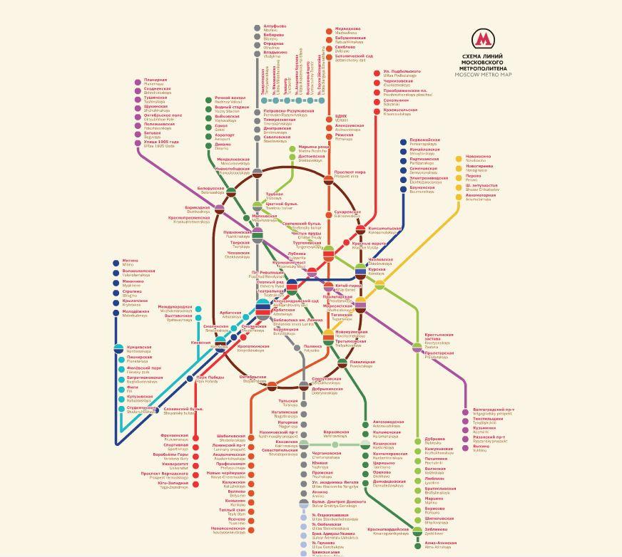 схема метро 80