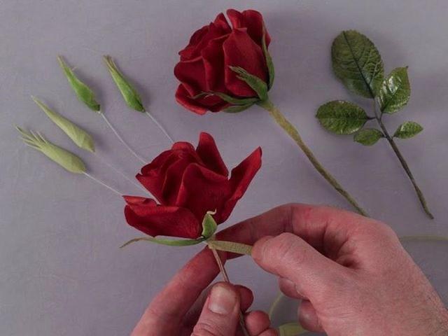 Мастер класс сахарные цветы на проволоке - Модная точка