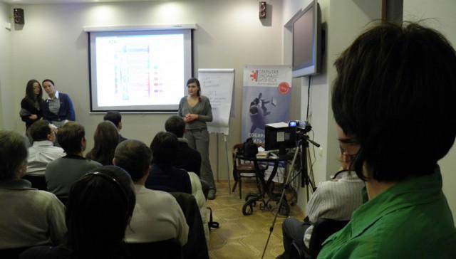 Мировой Вице-Президент JCI по Европе Эстер тер Бик в Одесском клубе тренеров