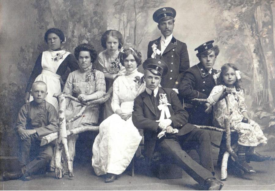свадьба 1911