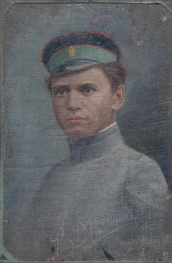 василий полтанов рисунок маслом 1905 год