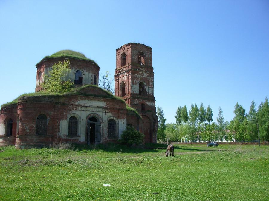 9 Никольский храм в селе Слободка