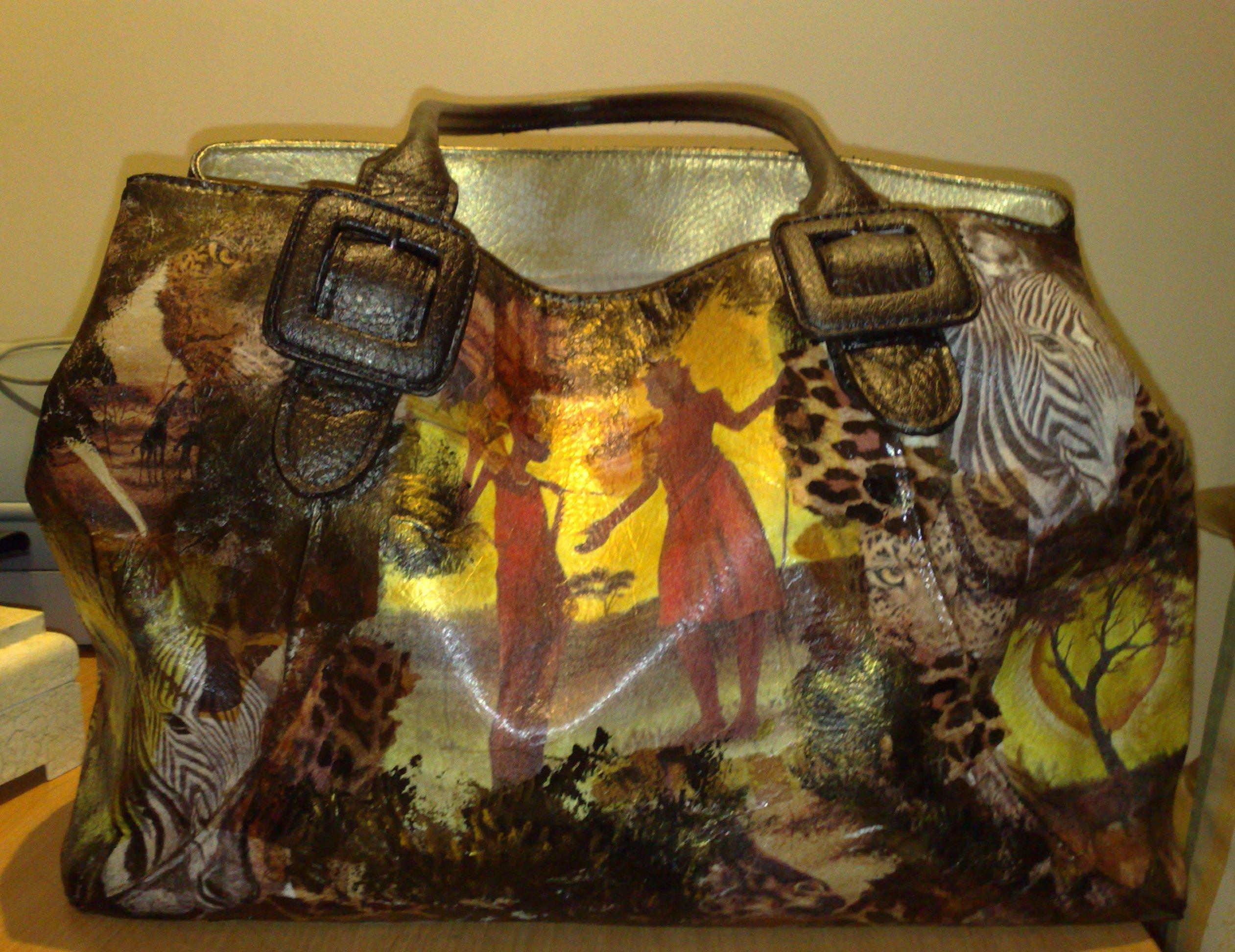 Декор сумки мастер класс